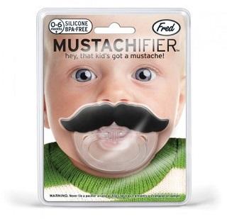 Chill, Baby- Schnuller im Schnurrbart-Design von amazon*