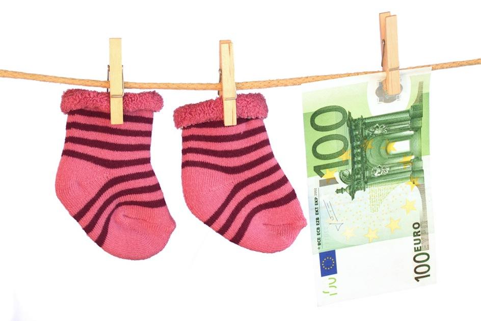 Baby und Geld