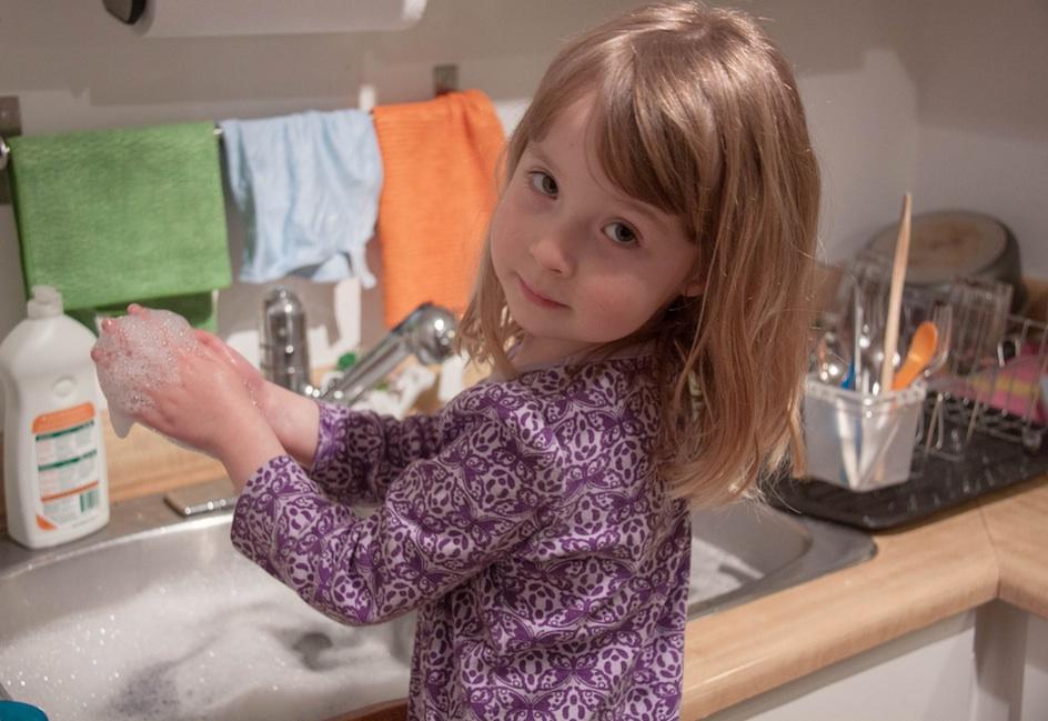Hygiene und Kinder