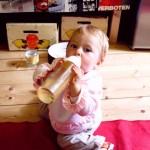Was trinken Babys