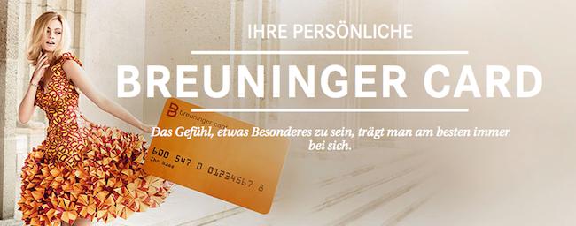 breuninger karte breuninger card   BabyRocks.de breuninger karte
