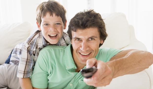 Kinder und TV