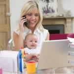 Ausbildung mit Baby
