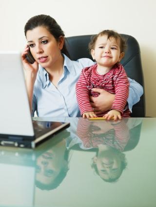Berufsausbildung mit Kind