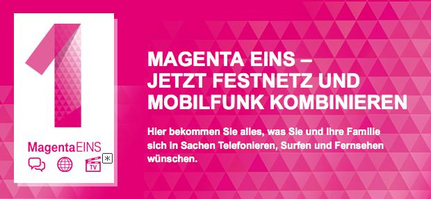 Magenta EINS von der Telekom