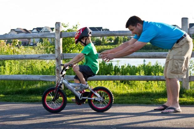 Kinder Fahrradfahren
