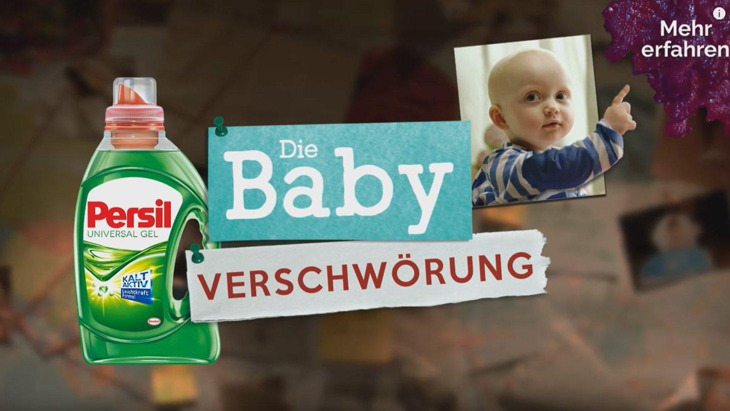 Henkel präsentiert die Baby-Verschwörung