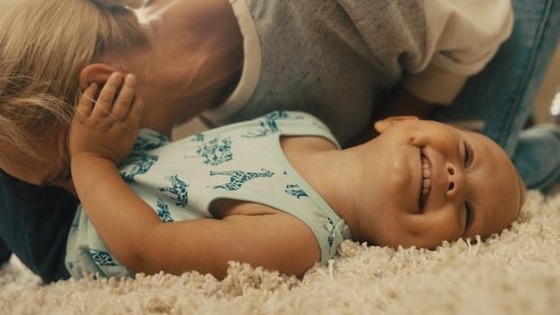 Babys Bäuchlein Blubbern mit Milupa
