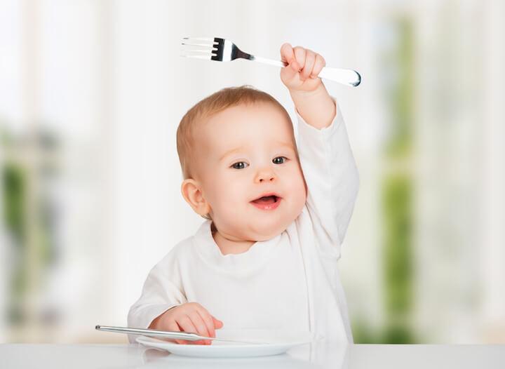 Weniger ist mehr - auch beim Weihnachtsessen mit Baby | © panthermedia.net / evgenyataman