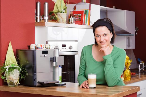 Eine Kaffeemaschine fuer die Familie   © panthermedia.net / Thomas Lammeyer