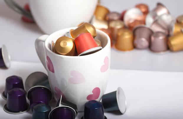 Große Auswahl von Kaffeekapseln   © panthermedia.net / dstaerk