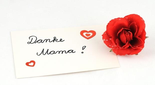 Danke Mama | © panthermedia.net /Ulrich Abels