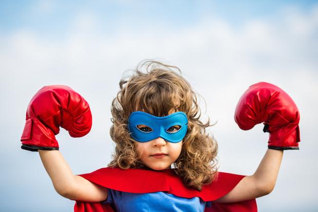 Mein Kind der Superheld | © panthermedia.net /Yaruta
