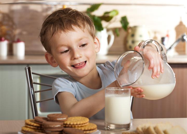 Milch genießen koennen | © panthermedia.net / _ella_