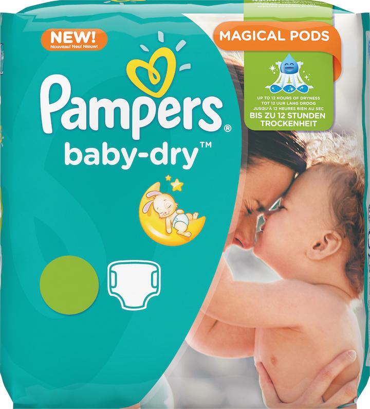 Pampers Baby-Dry Packshot