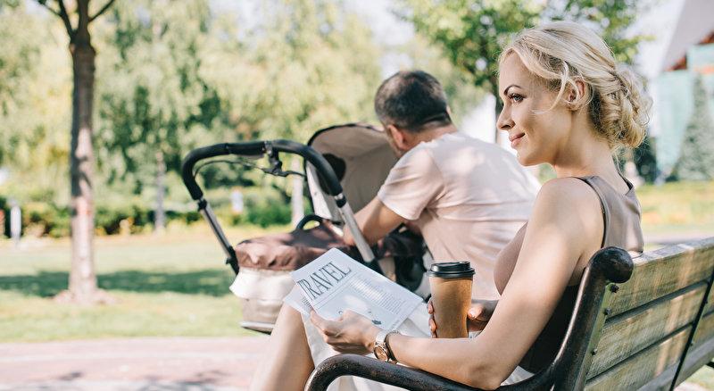 Baby unterwegs | © panthermedia.net / VitalikRadko