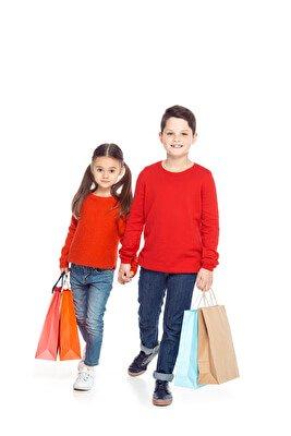 Einkaufen mit Kids | © PantherMedia / IgorVetushko