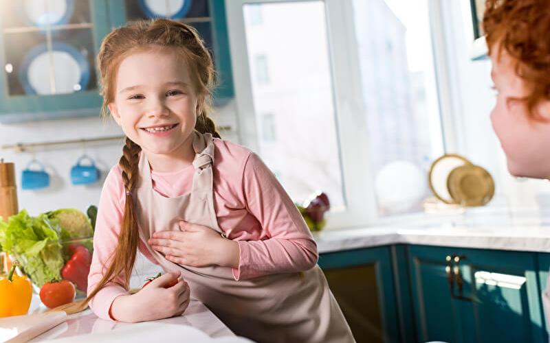 Kinder in der Küche   © PantherMedia / AllaSerebrina