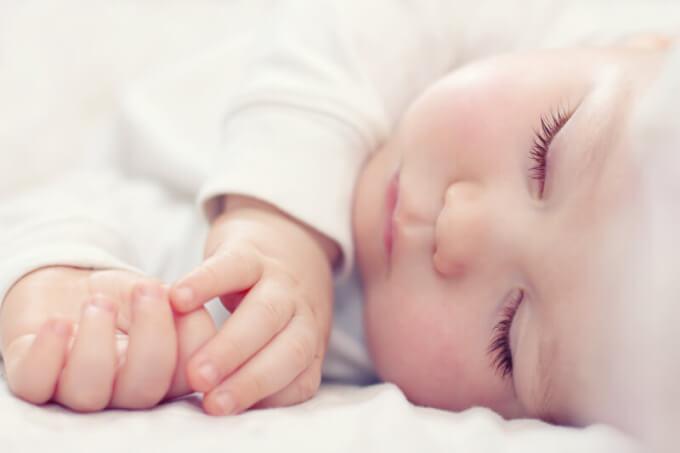 Schlafendes Baby | © panthermedia.net /Andriy Popov